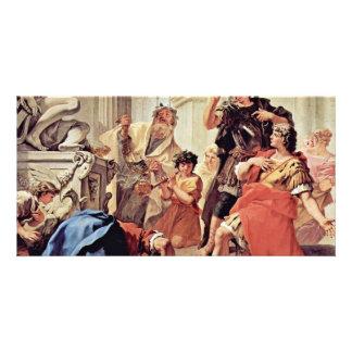 Lucius Junius Brutus Kissing The Ground Card