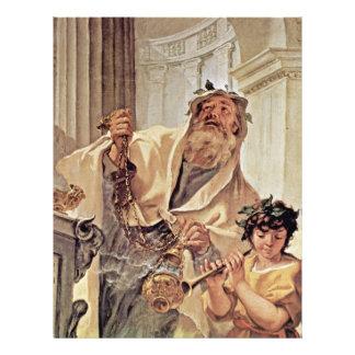 """Lucius Junius Brutus Kissing The Ground 8.5"""" X 11"""" Flyer"""