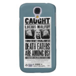 Lucius Malfoy Wanted Poster Samsung Galaxy S4 Covers