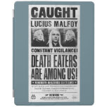 Lucius Malfoy Wanted Poster iPad Cover