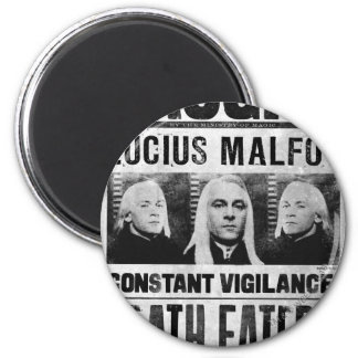 Lucius Malfoy Wanted Poster Magnet