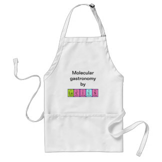 Lucius periodic table name apron