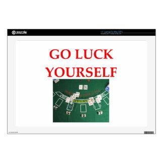 """luck 17"""" laptop skin"""