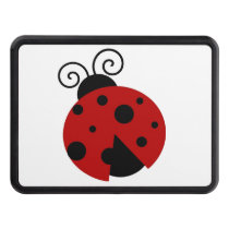 Luck be a Ladybug Cartoon Hitch Cover
