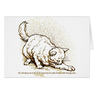Luck by Strange Cats Card