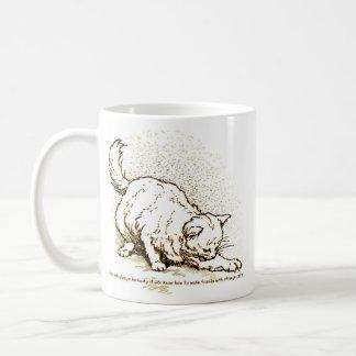 Luck by Strange Cats Coffee Mug