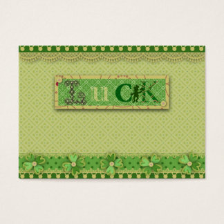 Luck Charm Gift Tag