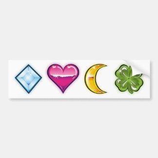 luck charms 1 bumper stickers