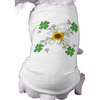Luck clover with sunflower and Calla T-Shirt