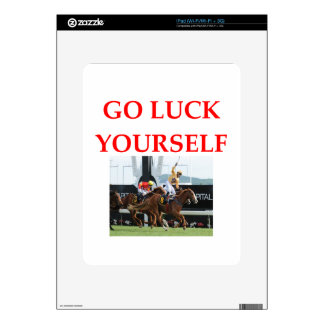 luck decals for the iPad