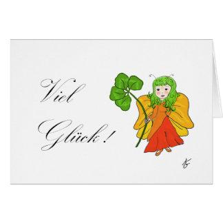 Luck elf card