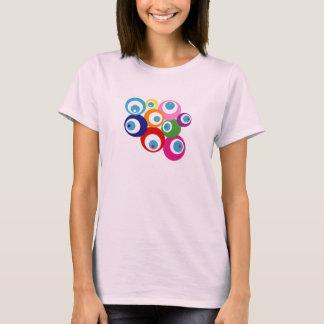 LUCK EYES GOOD LUCK EVIL EYES RAINBOW T-Shirt