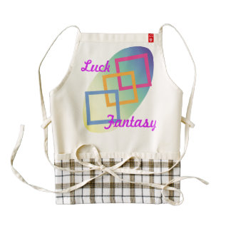 Luck Fantasy Zazzle HEART Apron