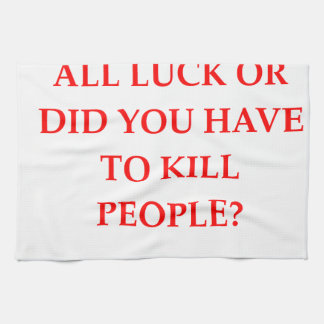 LUCK HAND TOWELS