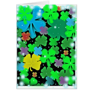 Luck Heaven Greeting Card
