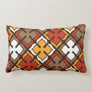Luck In Spades - Mid Century Lumbar Pillow (13x21)