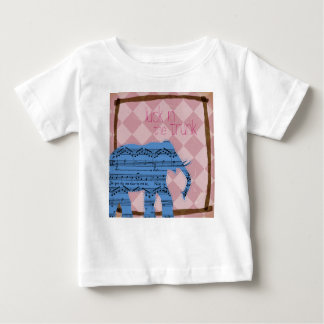 Luck in the Trunk Infant & Toddler Elephant Shirt
