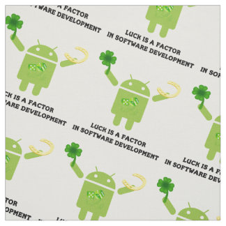 Luck Is A Factor In Software Development Bugdroid Fabric