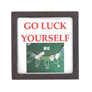 luck keepsake box