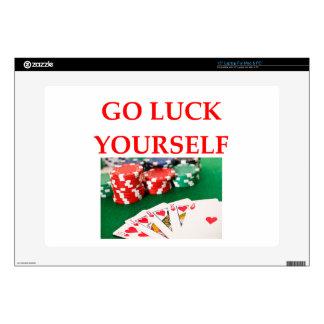 luck laptop skins