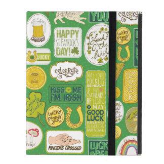 Luck Lucky Irish iPad Folio Cases