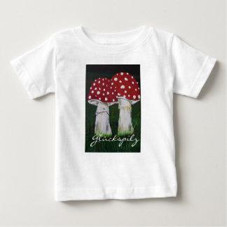 Luck mushroom - fly agaric baby T-Shirt