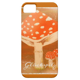 Luck mushroom - fly agaric iPhone 5 cases