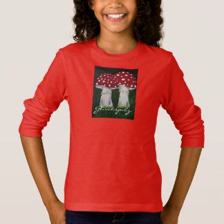 Luck mushroom - fly agaric cuddly autumn herdsman T-Shirt