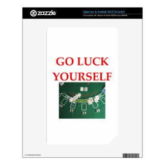 luck NOOK color decals