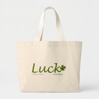 Luck O The Irish Jumbo Tote Bag