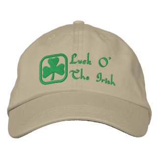 Luck O' The Irish Cap