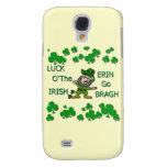 Luck O The Irish Erin Go Bragh Galaxy S4 Case