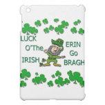 Luck O The Irish Erin Go Bragh iPad Mini Covers