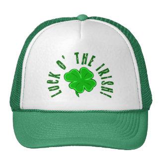 Luck o the Irish Four-Leaf Shamrock Hat