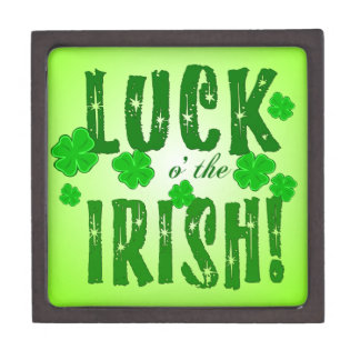 Luck o the Irish Green Gift Box