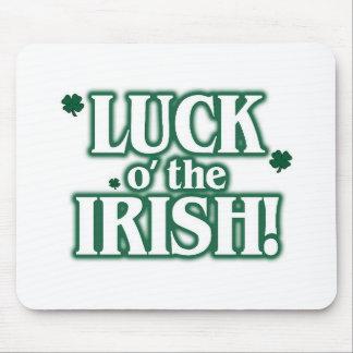 Luck o the irish mouse pad