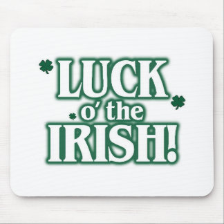 Luck o the irish mouse pad