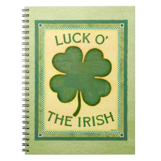 Luck O' The Irish Notebook