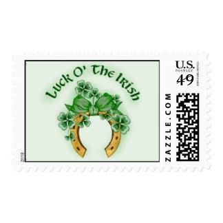 Luck O' The Irish Postage Stamp