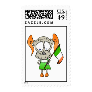 Luck O' The Irish Postage Stamps