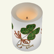 Luck O The Irish St. Patrick's Candle