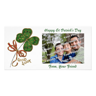 Luck O the Irish St. Patrick's Day  Photo Card