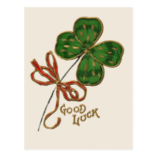 Luck O the Irish St. Patrick's Day Postcard