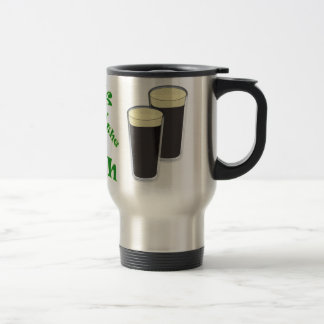 Luck o the Irish - St Patricks Day Travel Mug