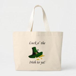 Luck O' the Irish To Ya Canvas Bag