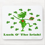 Luck O' the Irish Whimsical Design Mousepad