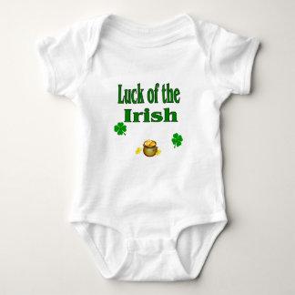 luck of irish baby bodysuit