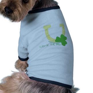 Luck Of Irish Doggie T Shirt