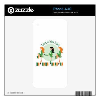 Luck Of Irish iPhone 4 Skins