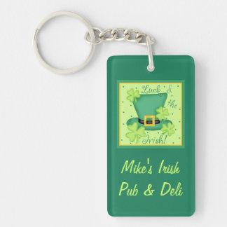 Luck of Irish St. Patrick's Day Business Keychain